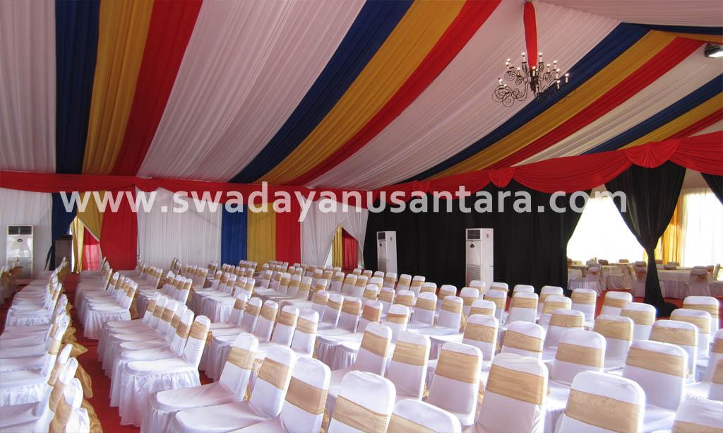 contoh tenda rouder dekorasi